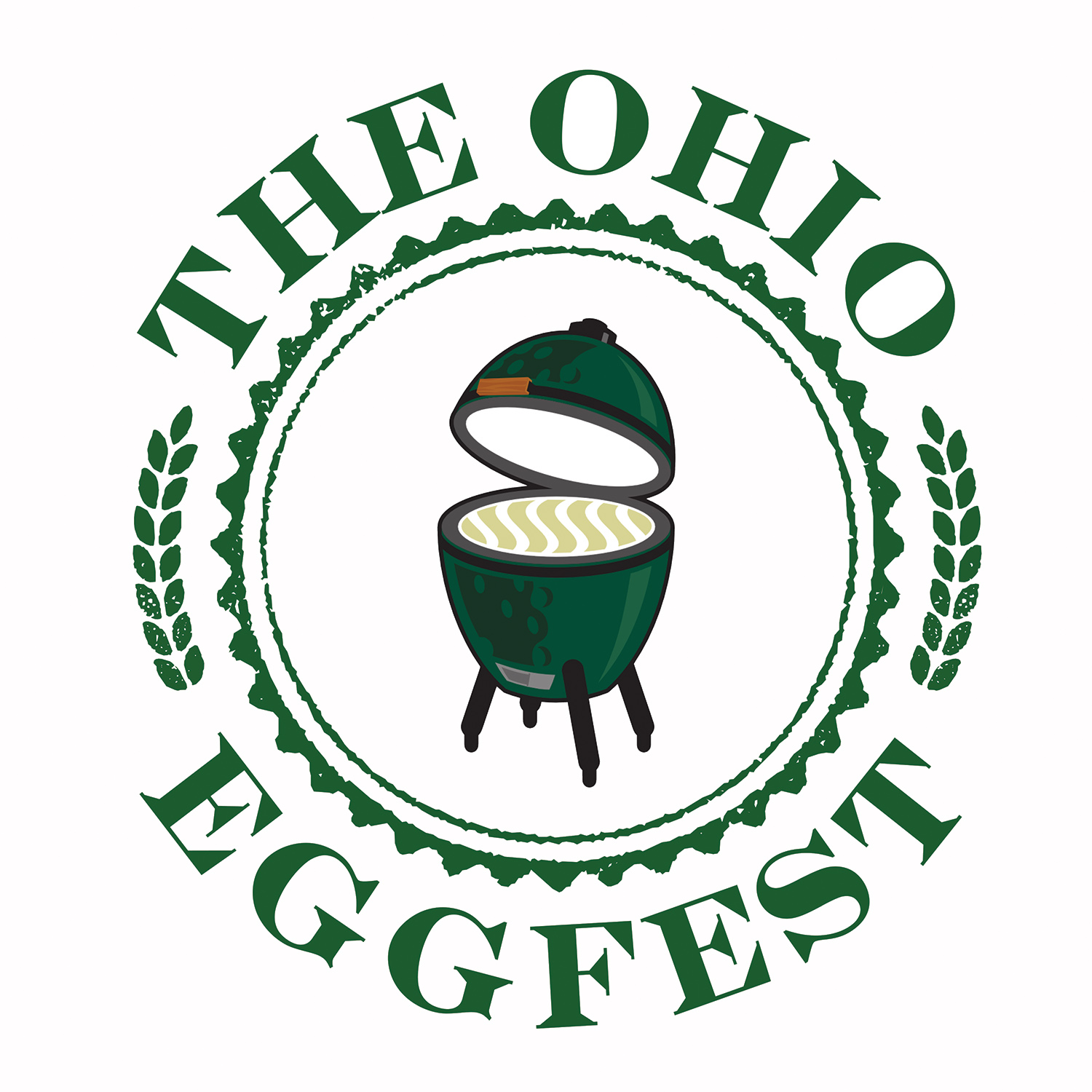 the ohio eggfest big green egg