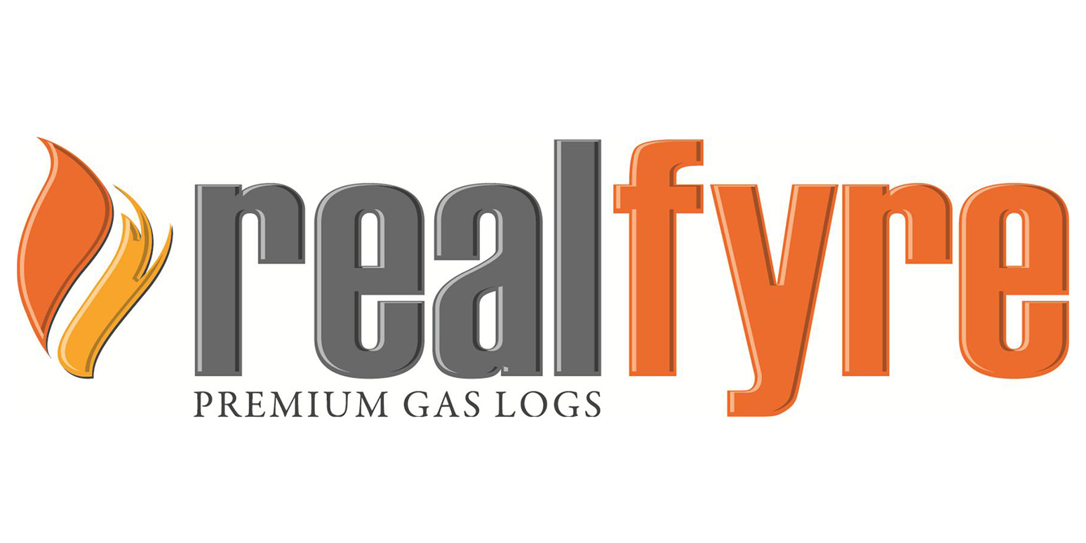 real fyre peterson gas fireplaces logo