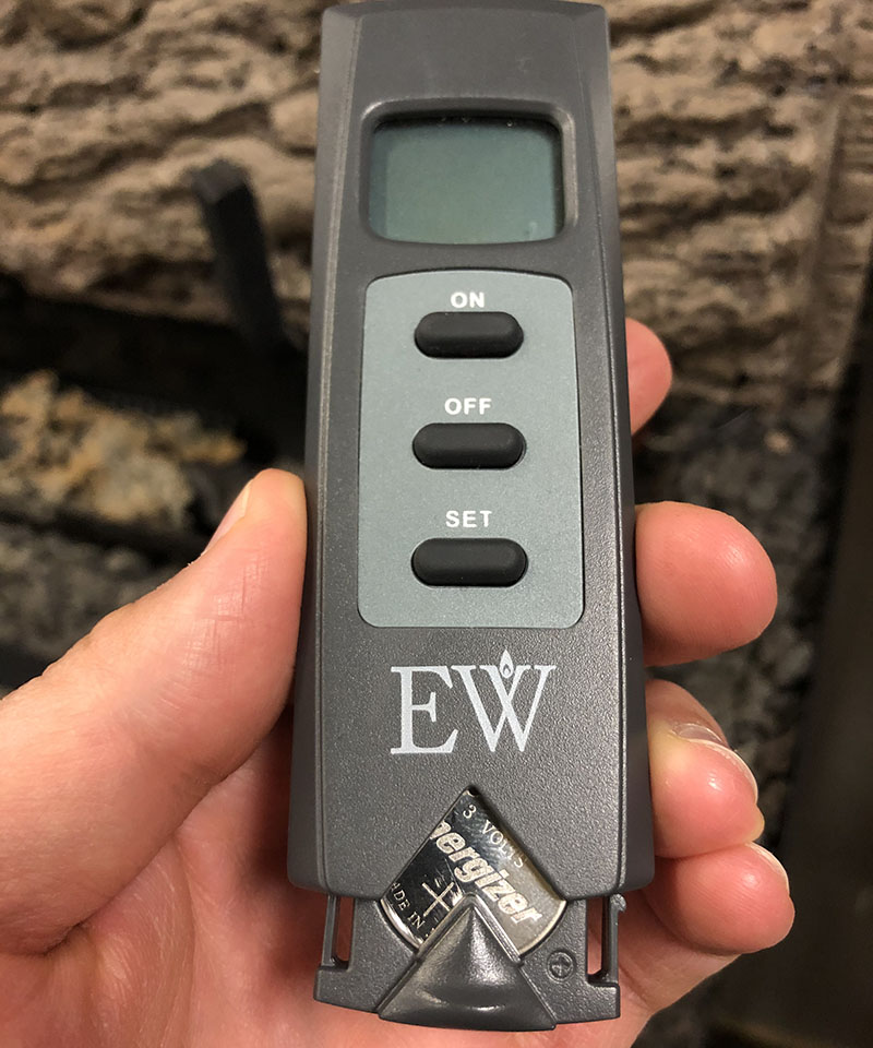 fixing fireplace remote