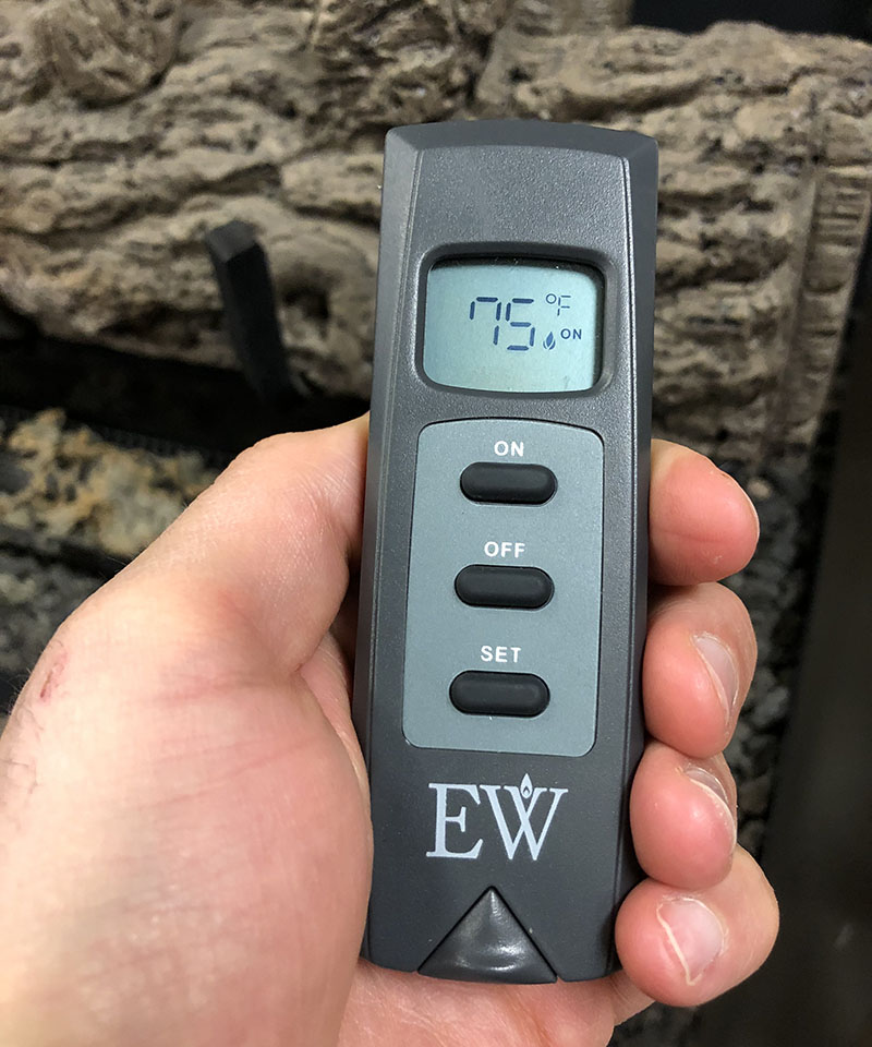 everwarm ew4001th fireplace remote