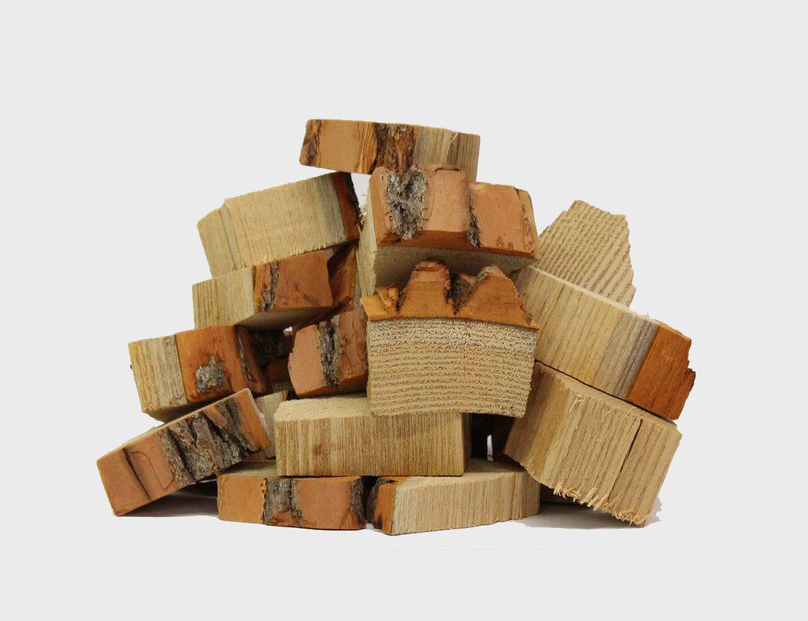 sassafras smoking wood chunks