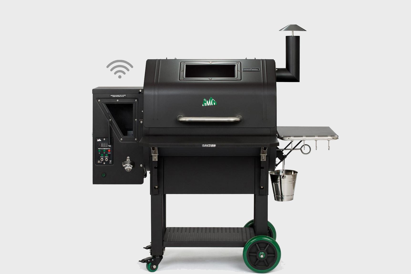 daniel boone pellet grill smoker prime plus