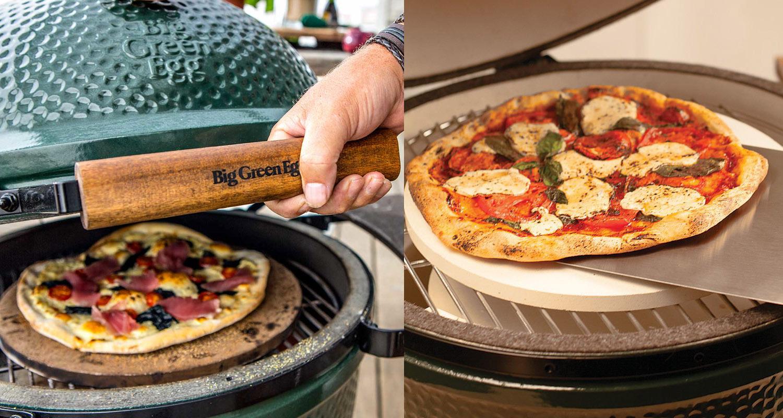 Big Green Egg Pizza Stone