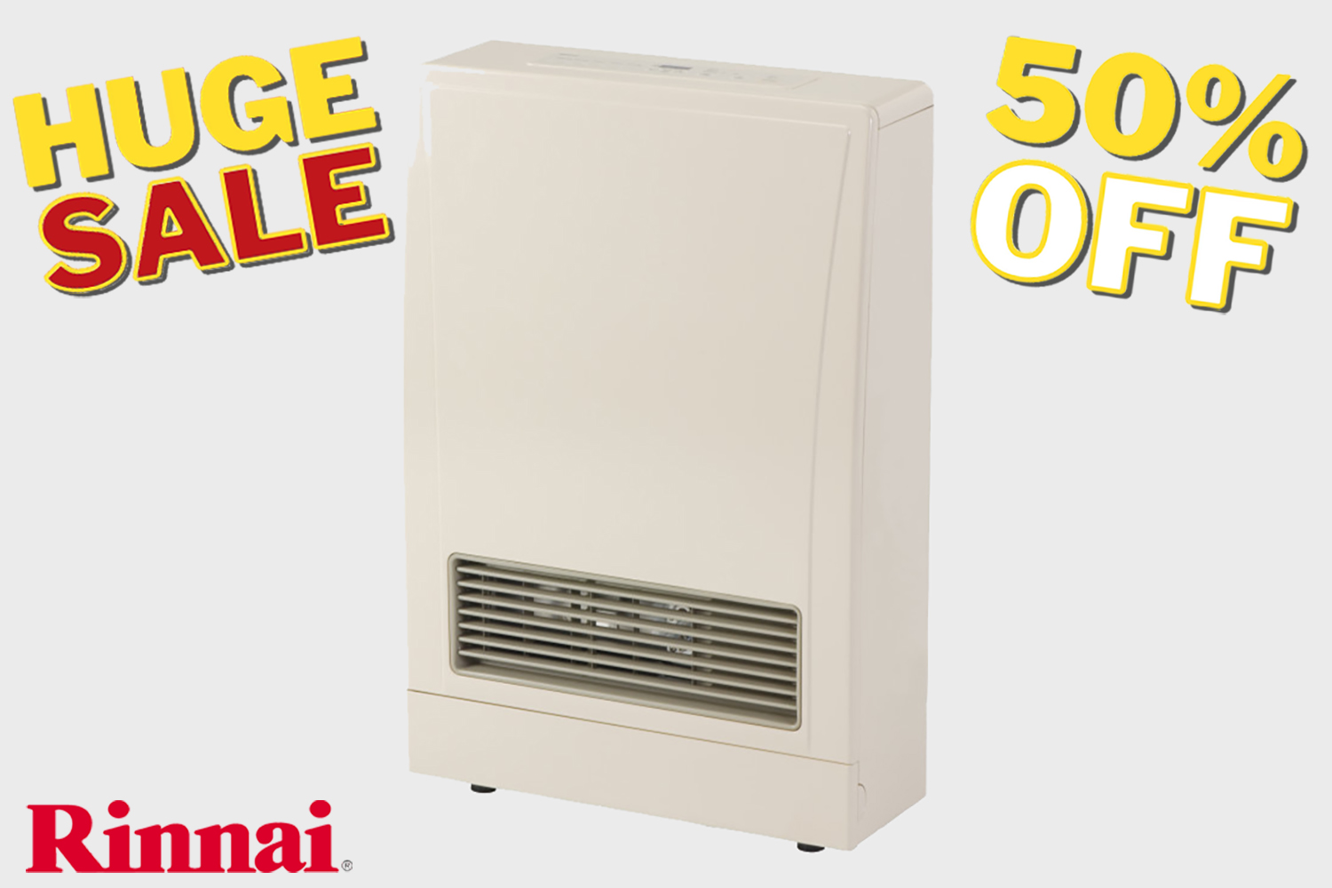 rinnai direct vent heater deal