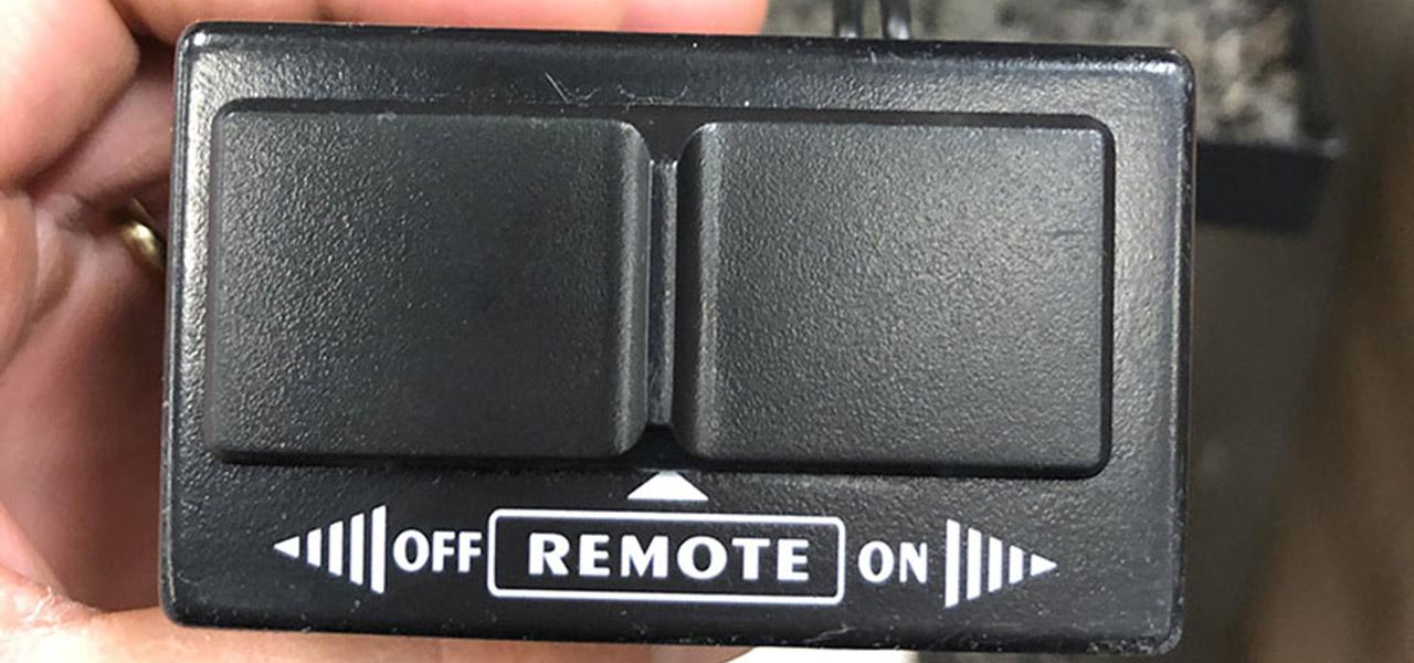 fix fireplace remote