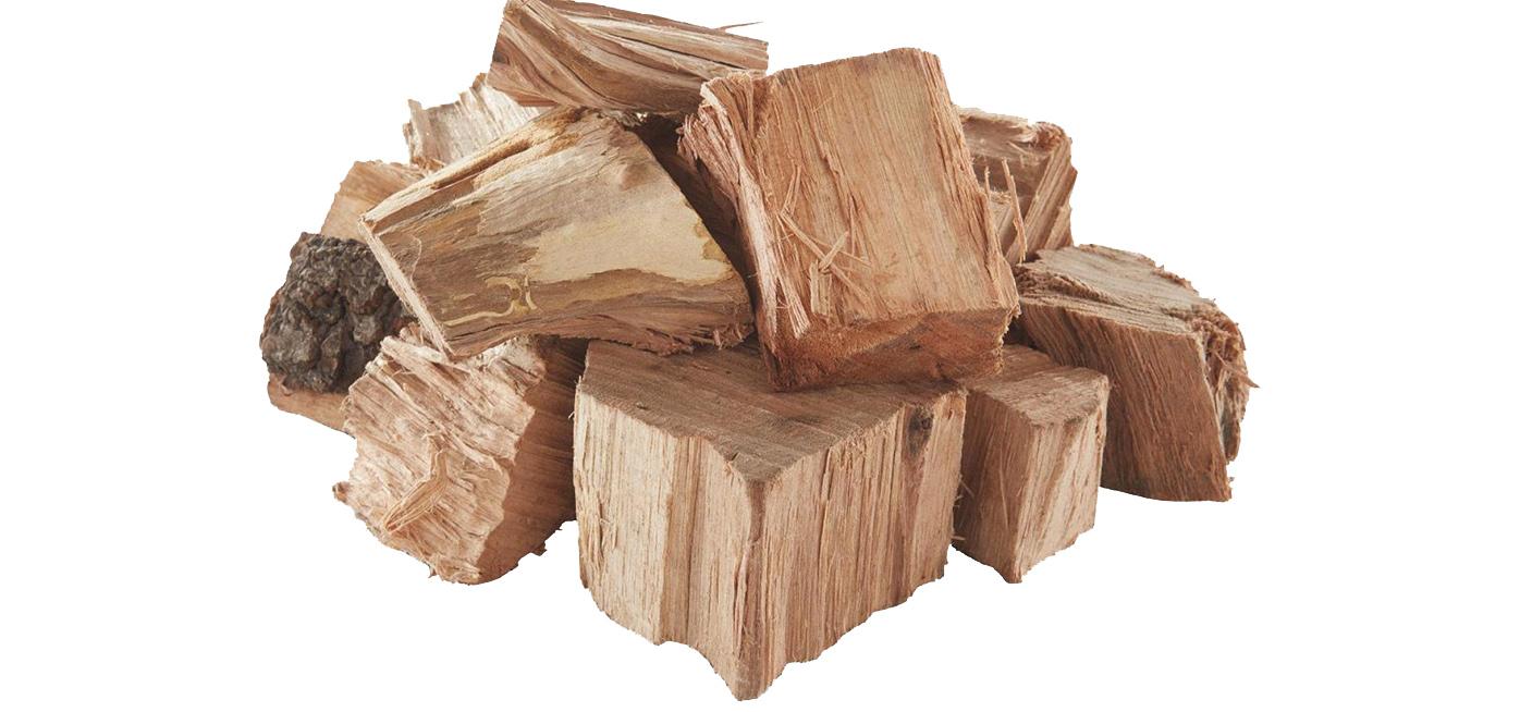 smoking wood tips