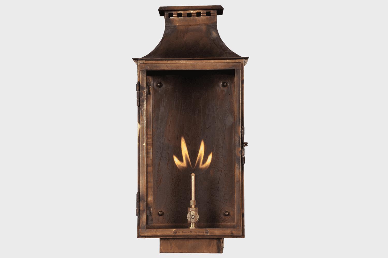 aspen copper gas light