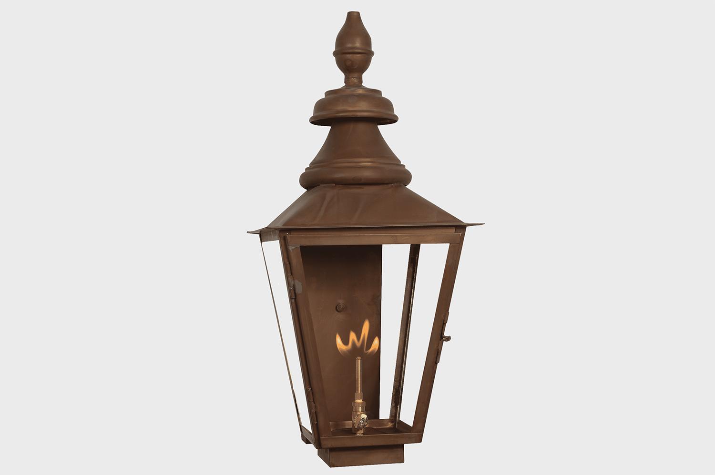 copper gas light