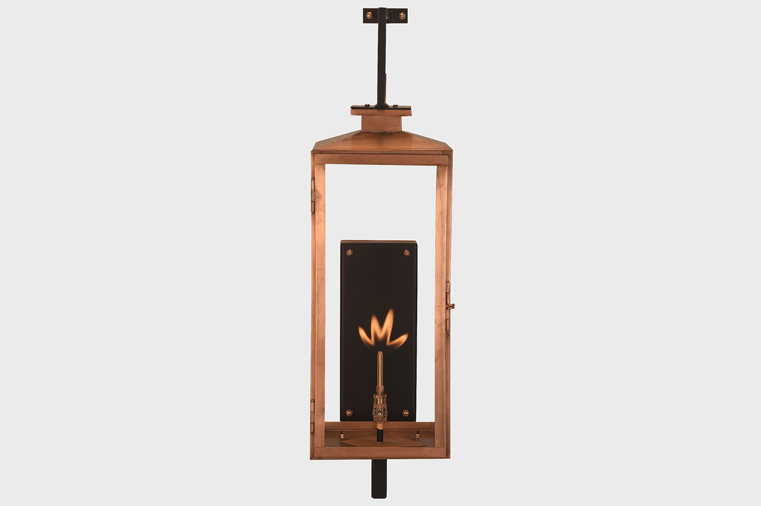 OXFORD COPPER OPEN FLAME LAMP