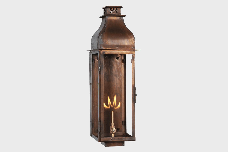 sarasota copper gas lamp