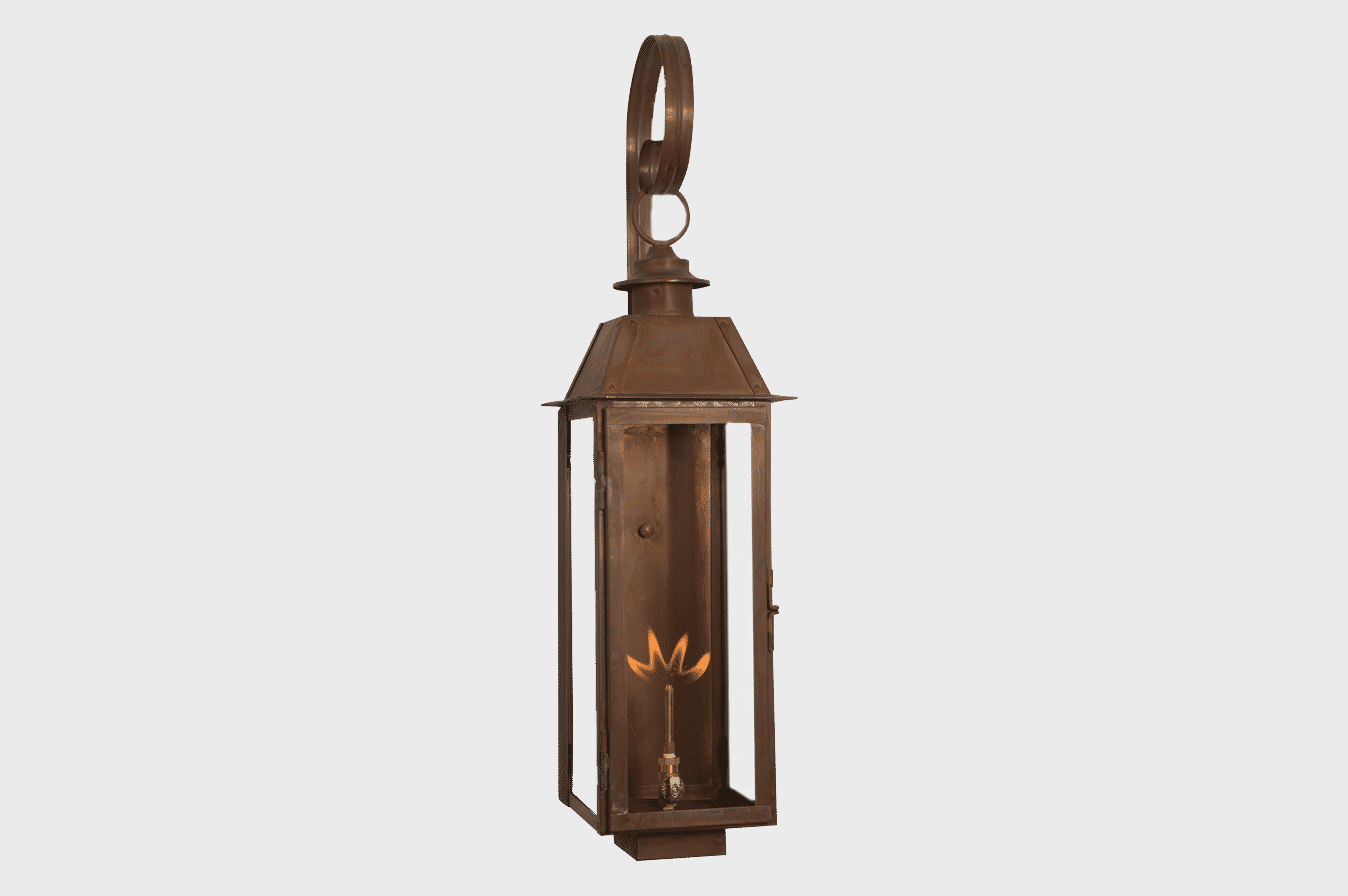 sweetwater copper gas lamp