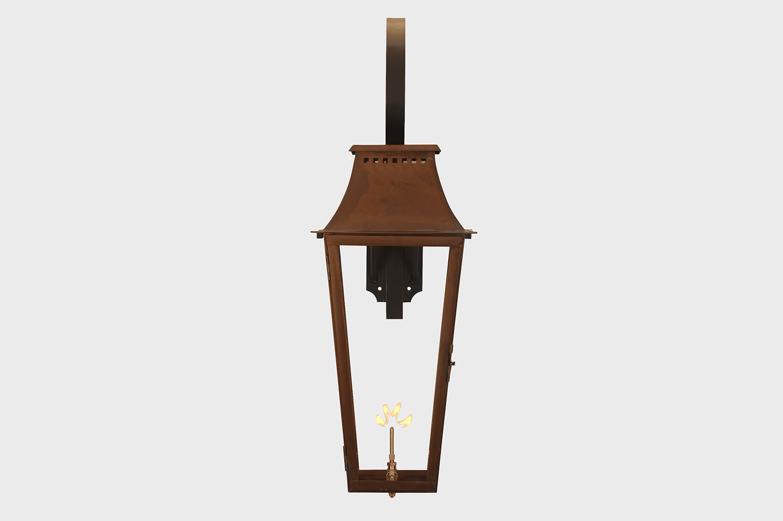 wood dale copper gas light