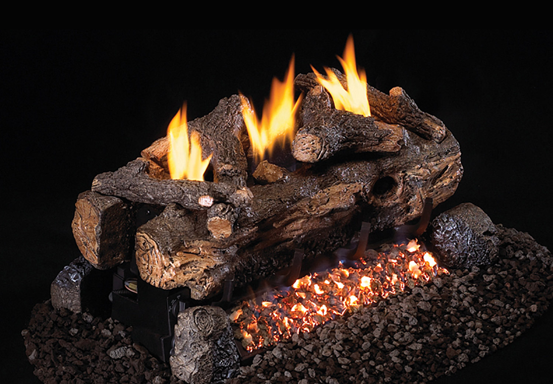 Evening Fyre Split See-Thru Gas Logs